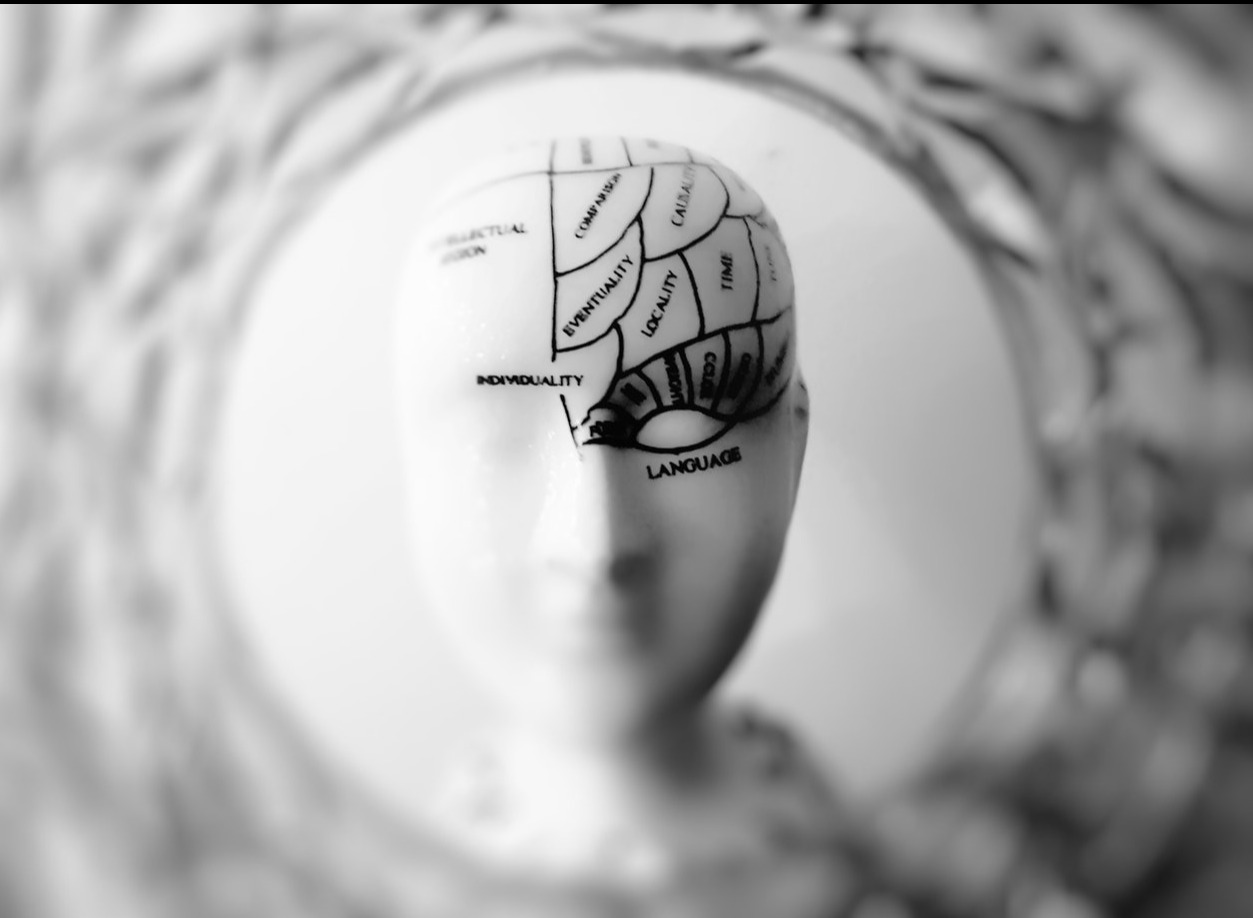 How does depression physically affect the brain?
