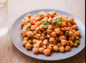 Baked Chickpea 'Nuts' Recipe
